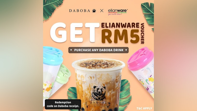 Buy Daboba, Get Elianware Voucher
