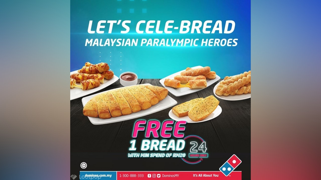 Free Bread from Domino's Pizza
