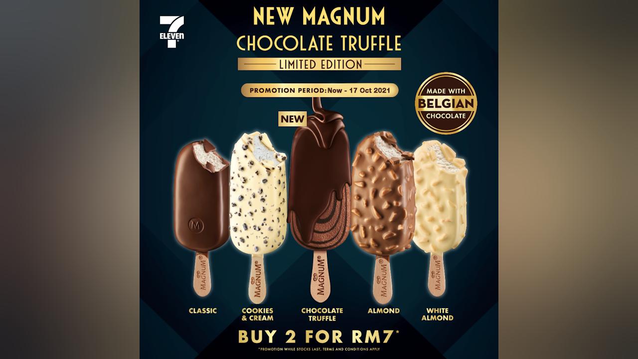 RM7 for 2 Magnum Chocolate Truffle Ice Creams