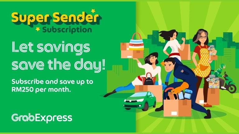 GrabExpress Super Sender Subscription
