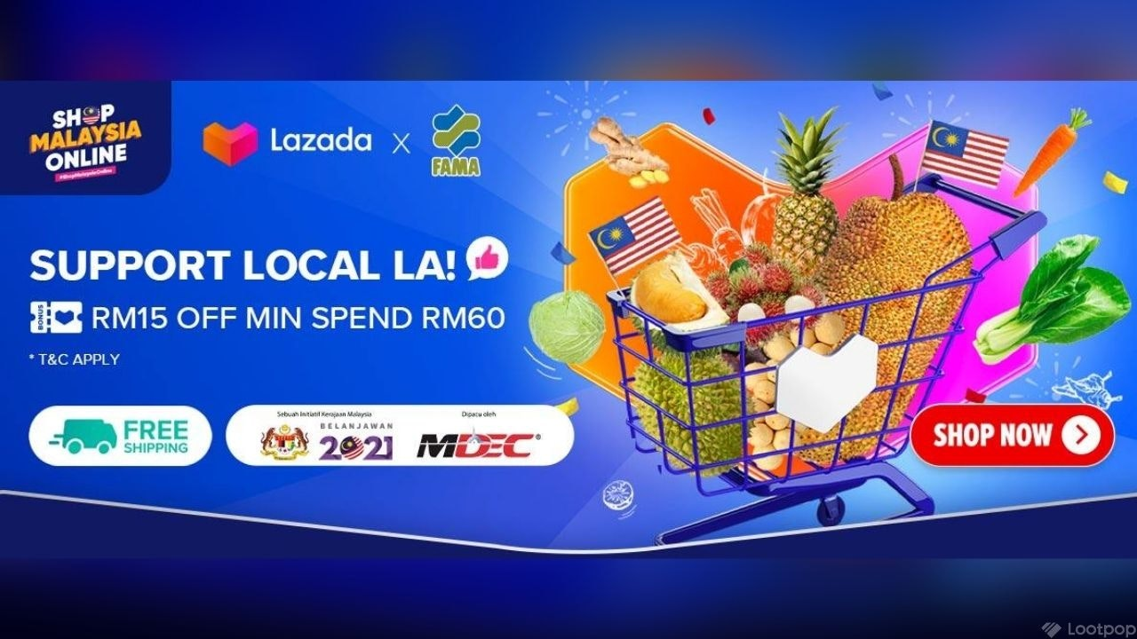 Support Local Campaign by Lazada x FAMA