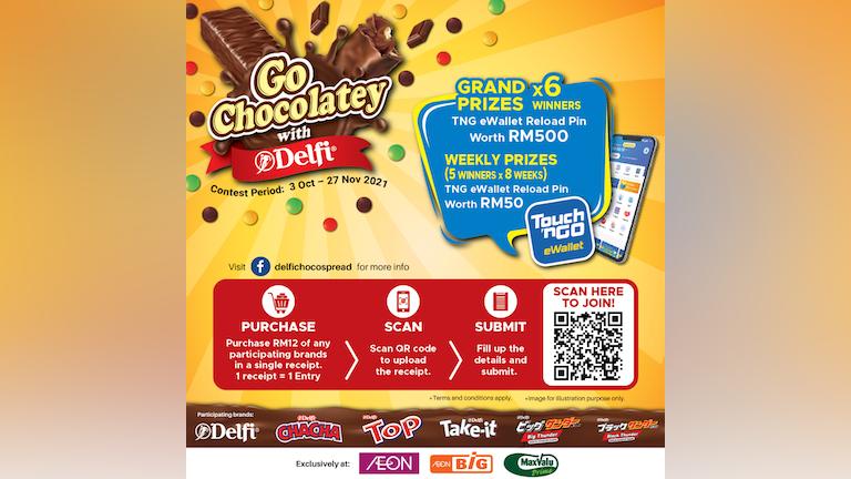 Go Chocolatey with Delfi Contest