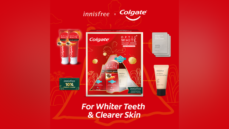 innisfree x Colgate Malaysia limited edition Volcanic Mineral Beauty Kit