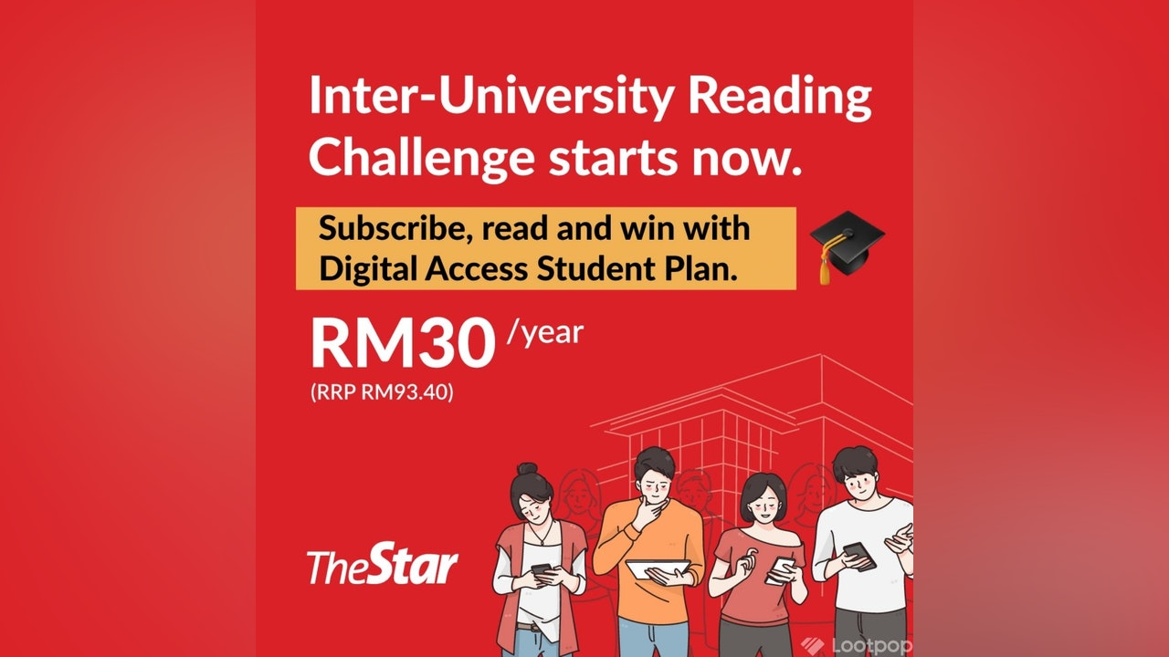 The Star Digital Access Student Promo