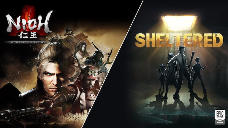 Free Nioh: The Complete Edition & Sheltered at the Epic Games Store