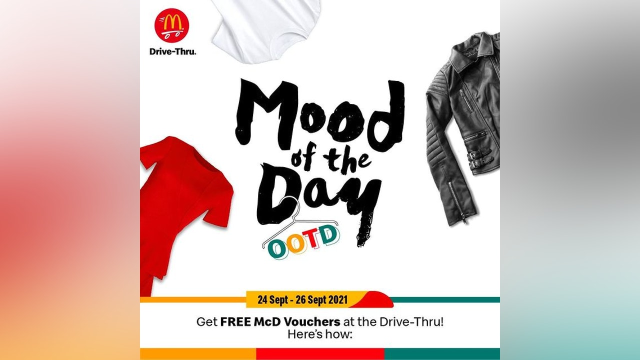 McDonald's Mood of The Day Event