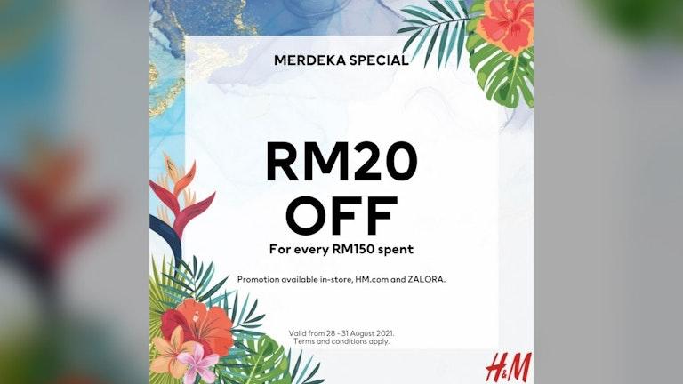 H&M Merdeka Sales at ZALORA