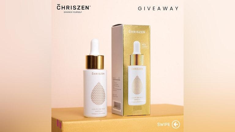 Chriszen Luxury 24k Gold Ampoule Giveaway