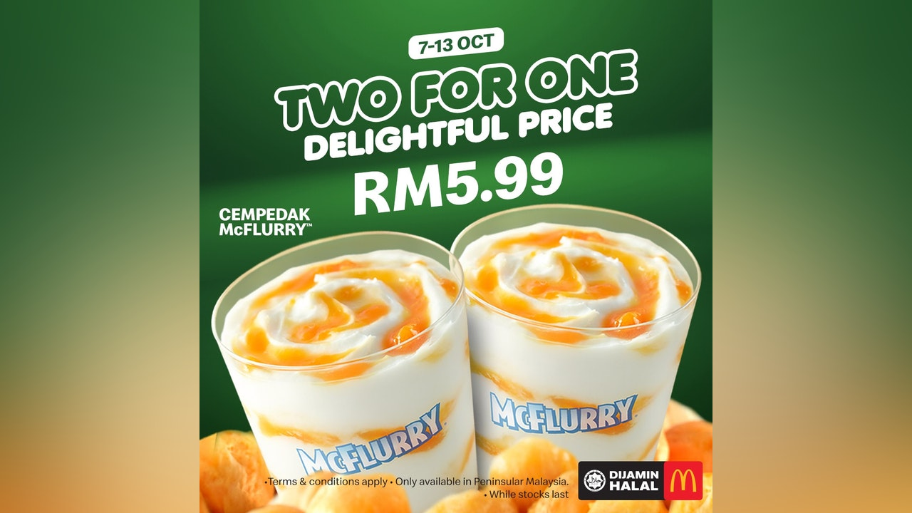 Two for the Price of One Cempedak McFlurry