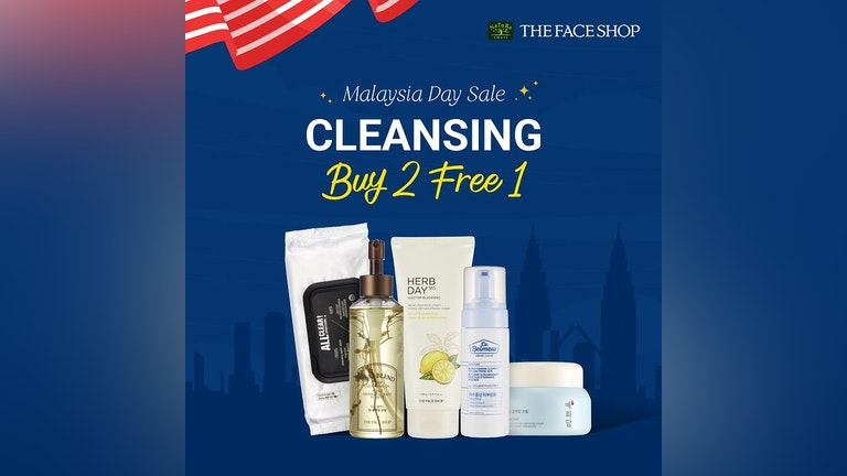 THE FACE SHOP Malaysia Day Sale