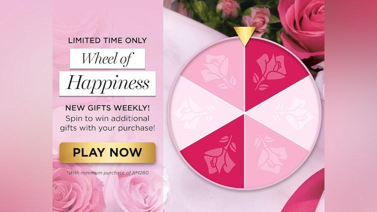 Lancôme Wheel of Happiness