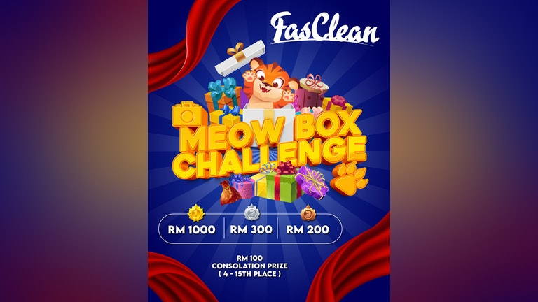 FasClean Meow Box Challenge Contest
