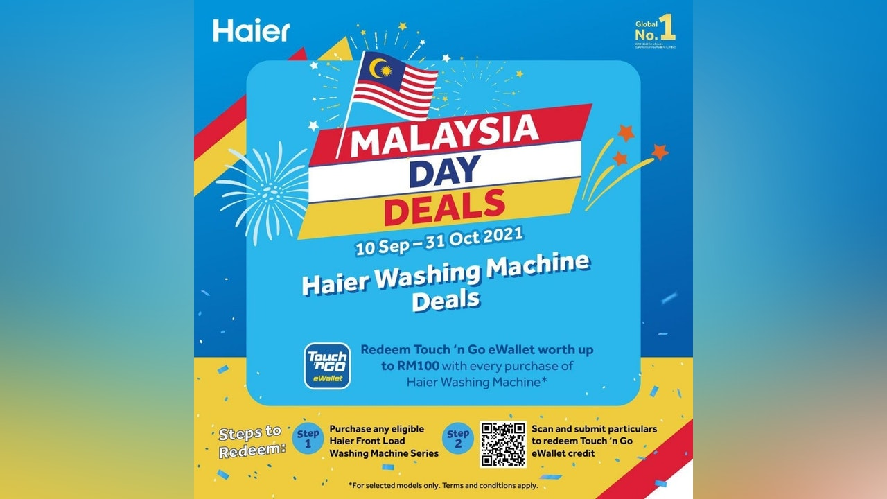 Haier Washing Machine Malaysia Day Deals