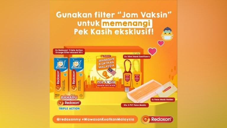 Redoxon Wawasan Kuatkan Malaysia Contest