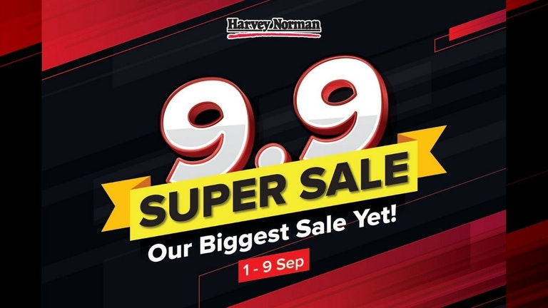 Harvey Norman 9.9 Super Sale