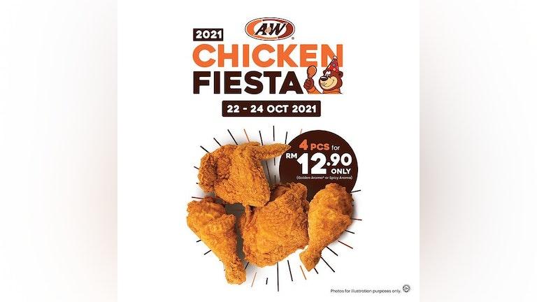 A&W Chicken Fiesta