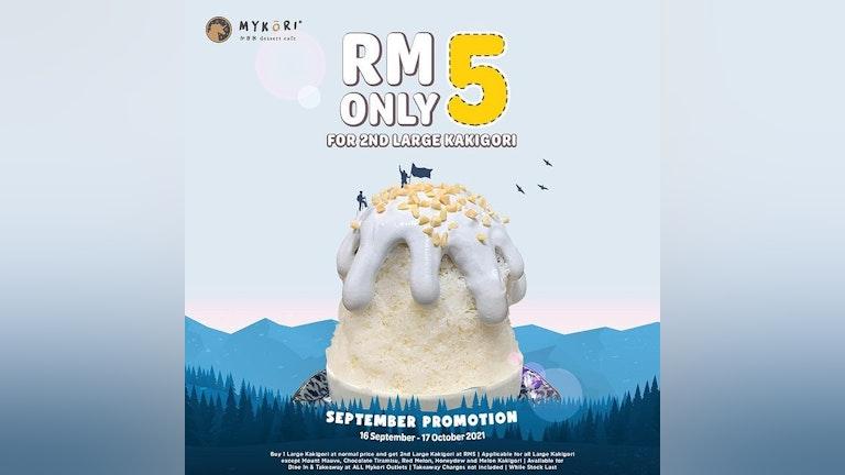 Mykori Dessert Cafe RM5 Large Kakigori