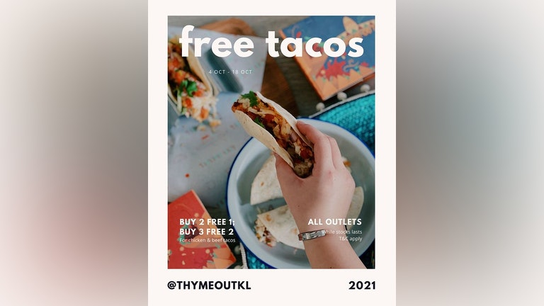 Free Tacos from Thyme Out