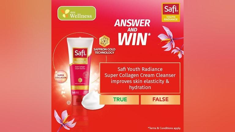 SAFI x AEON Wellness Giveaway Contest