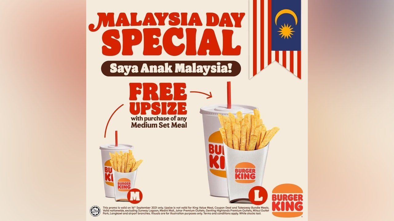 Burger King Malaysia Day Special