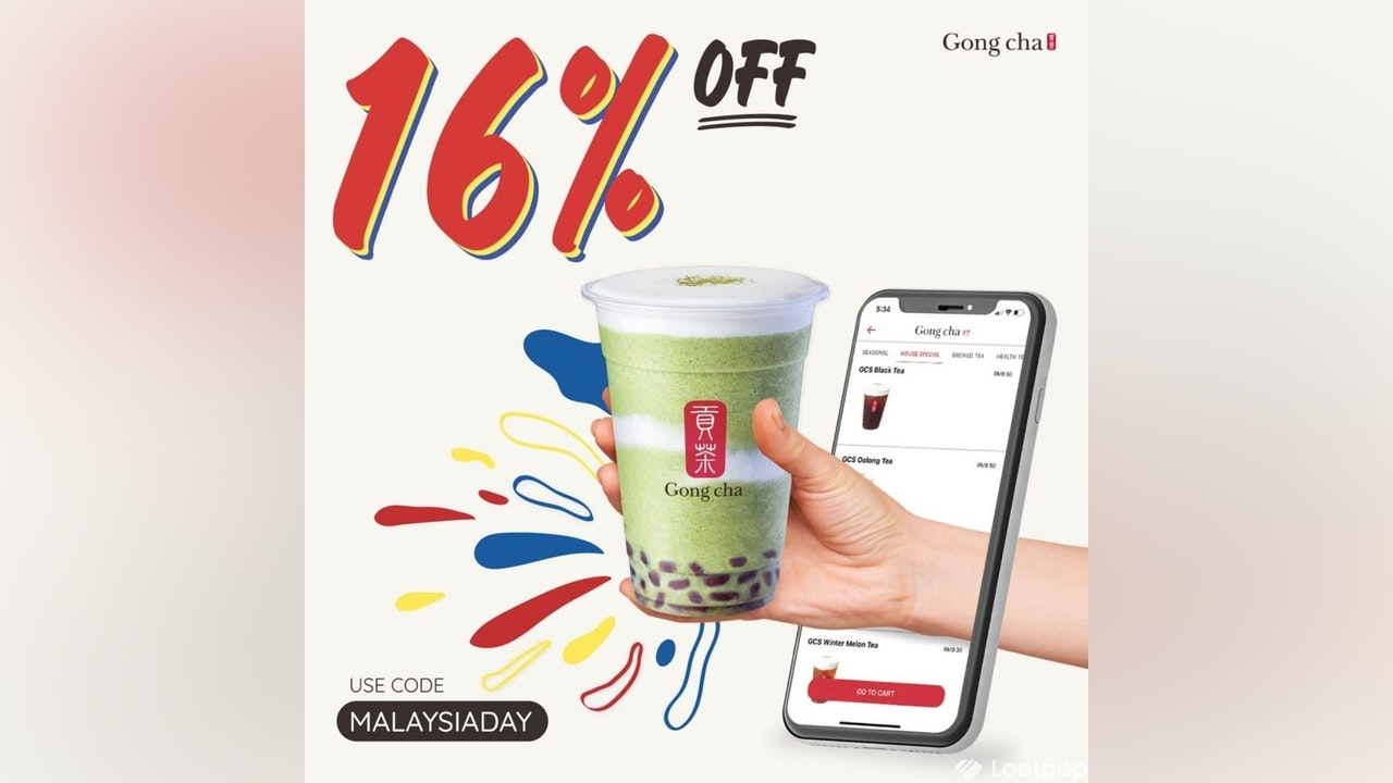 Celebrate Malaysia Day with Gong Cha