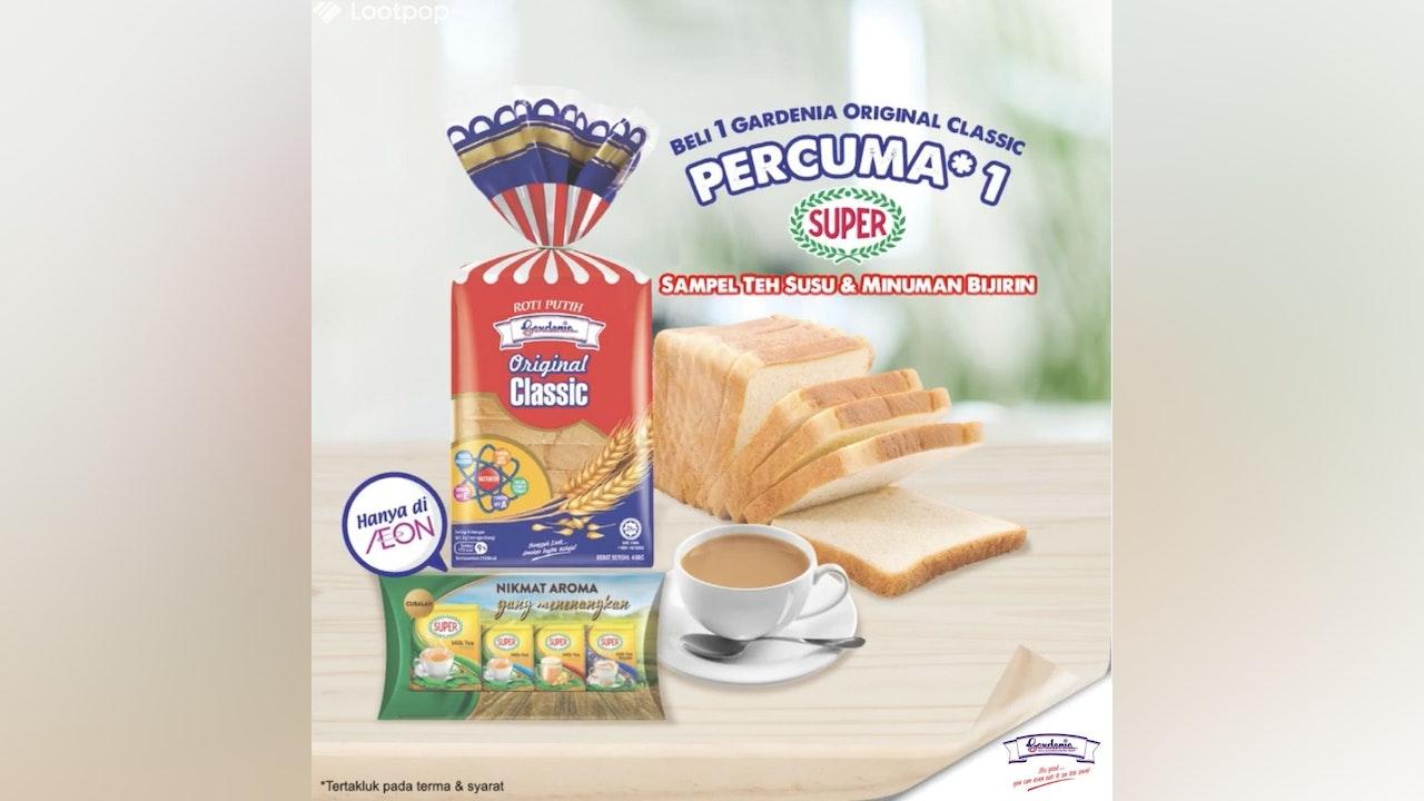 Free Super Malaysia Sample Kit with Gardenia & AEON