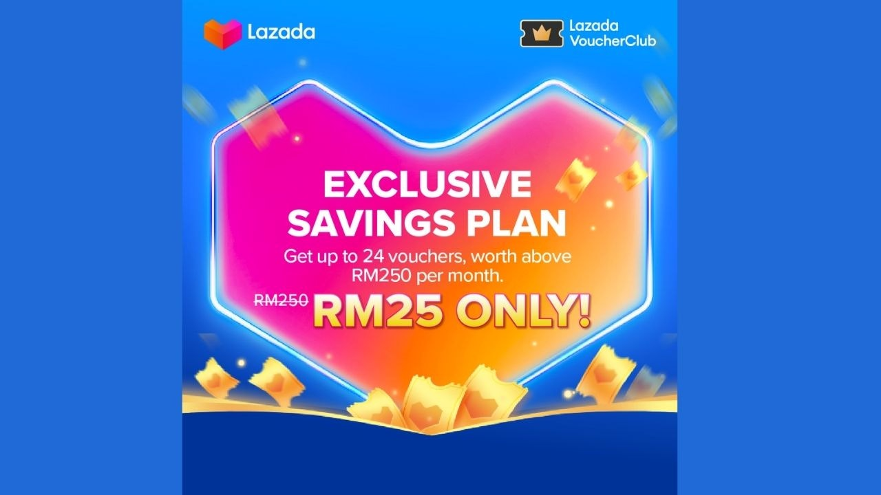 Join Lazada Voucher Club for Exclusive Savings Plan