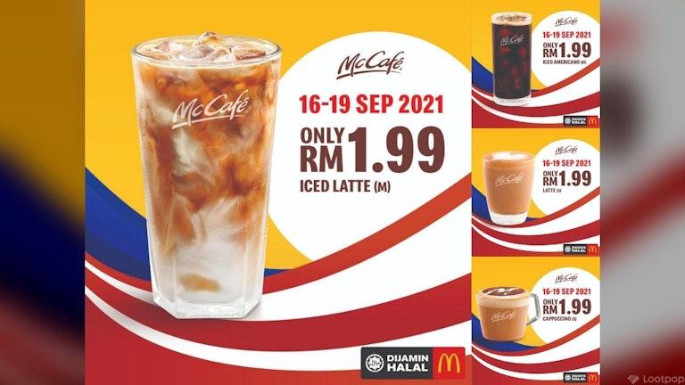 RM1.99 Malaysia Day McCafe Deals