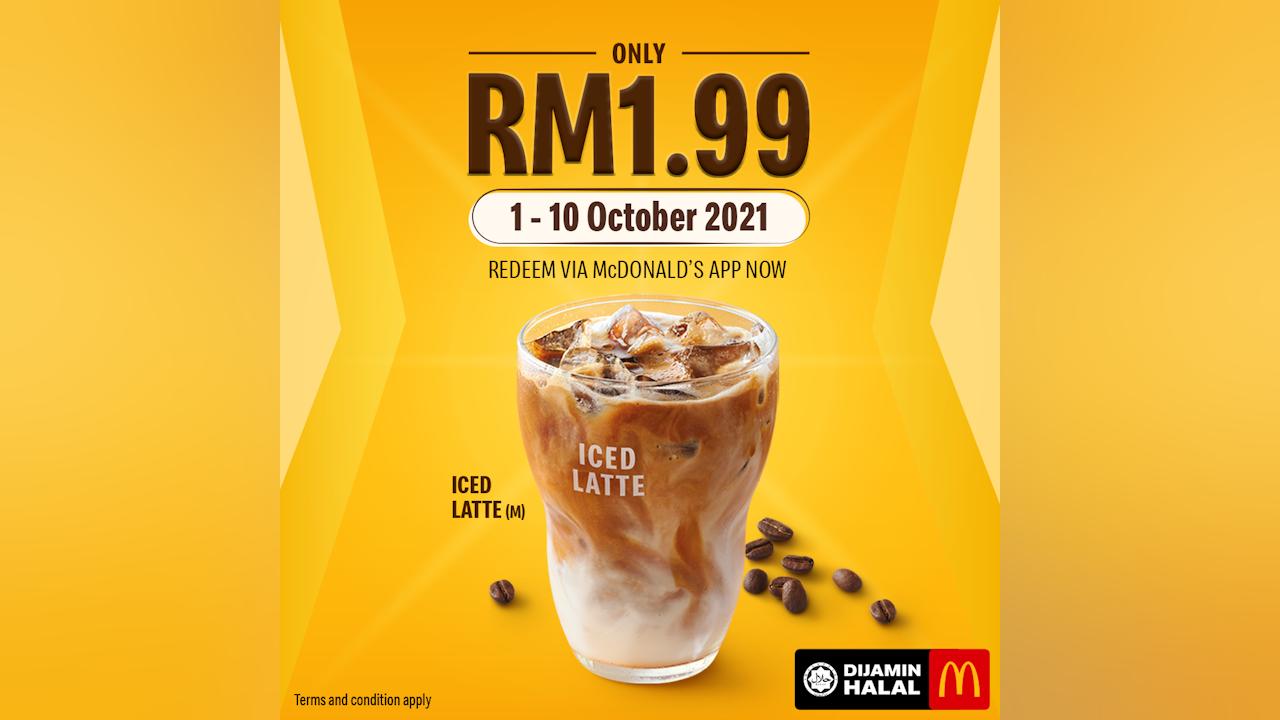 RM1.99 McD Iced Latte is Back
