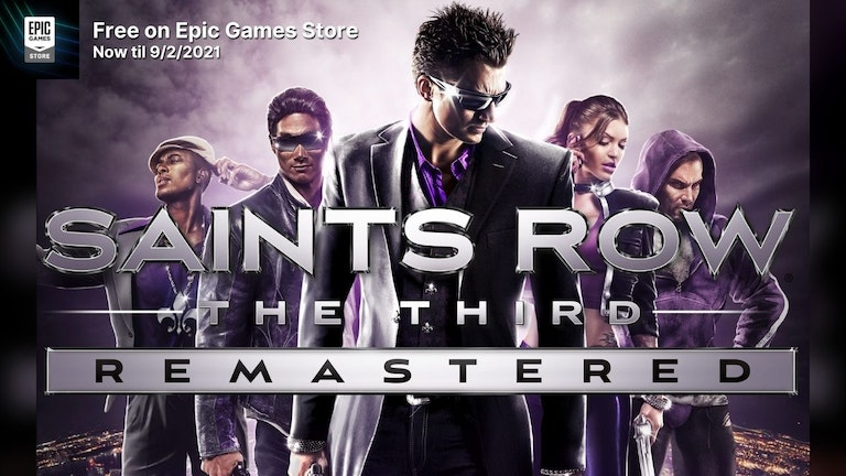 Claim Free Copy of Saints Row®: The Third™ Remastered