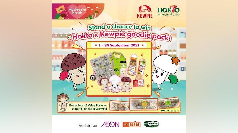 Win Hokto x Kewpie Goodie Pack at AEON