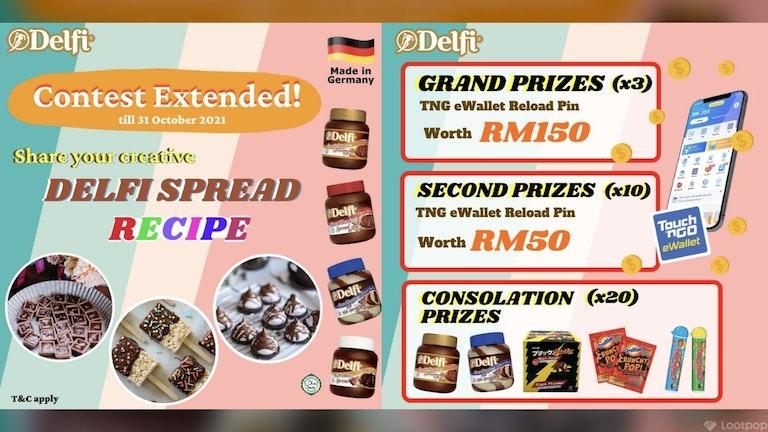 Share Your Creative Delfi Spread Recipe Contest