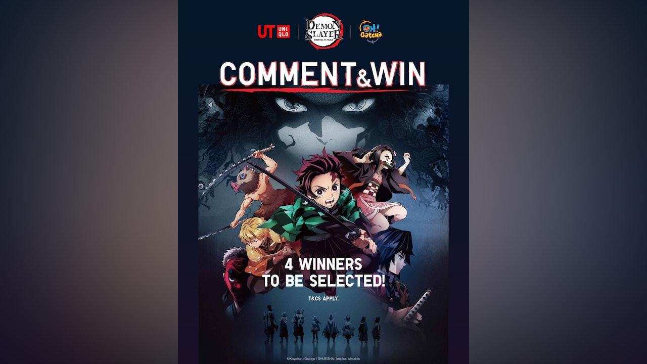 Demon Slayer UT Comment & Win Giveaway