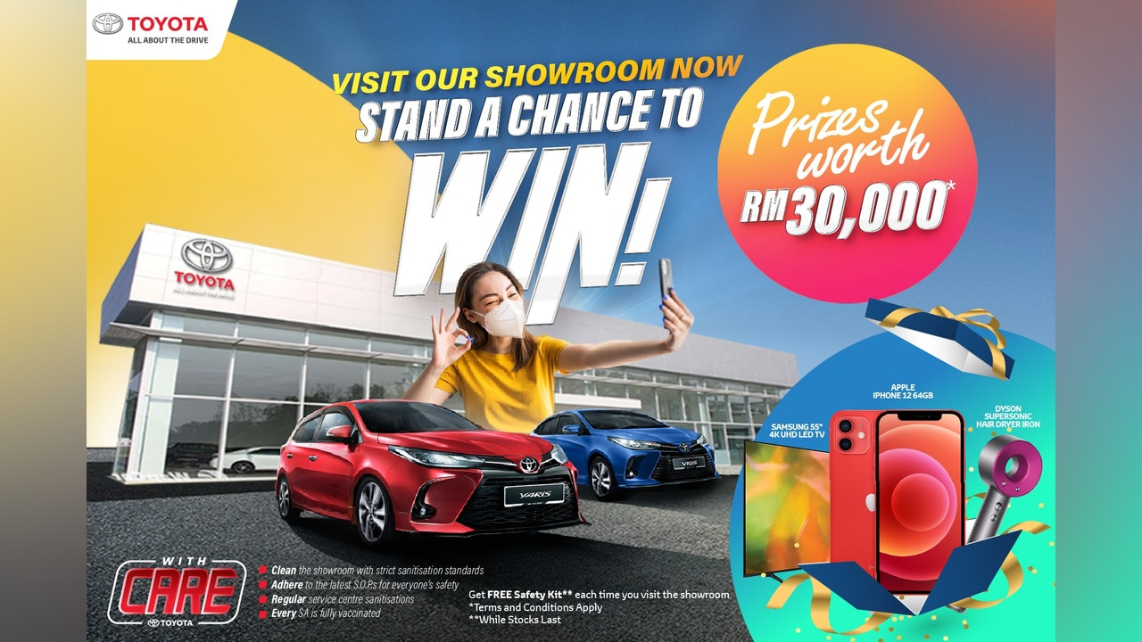 Toyota Visit & Win Contest