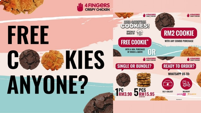 4Fingers wants to Give You Some Free Cookies