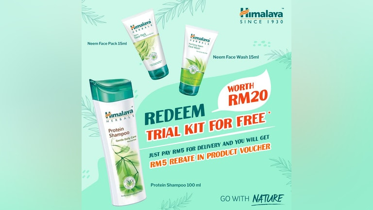 Himalaya #GoWithNature Redemption Campaign