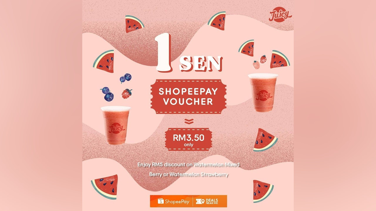 Juicy 1sen ShopeePay Voucher (September 2021)