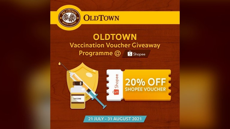 OLDTOWN Vaccination Shopee Voucher Giveaway