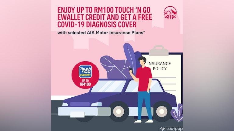 AIA Motor Insurance's Free COVID-19 Diagnosis Cover Campaign