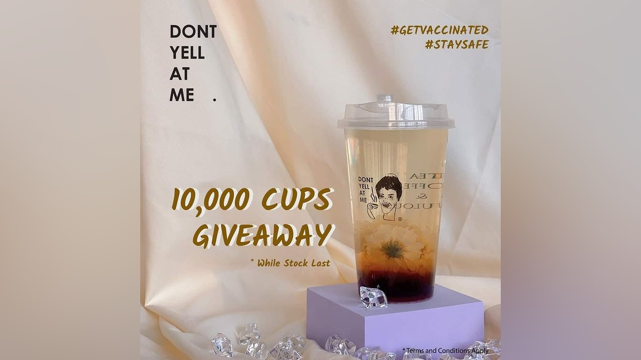 Dont Yell At Me 10,000 Cups Giveaway Campaign