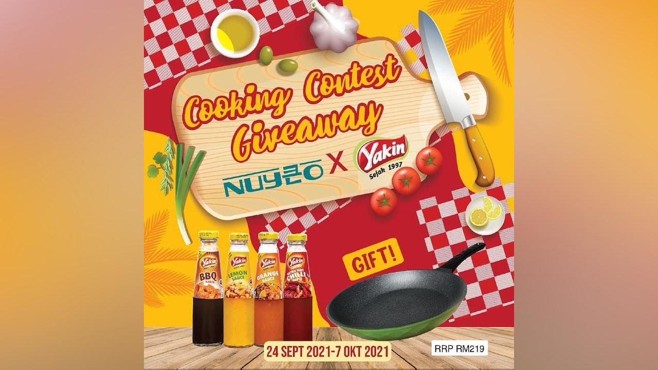 Nuyeo x Yakin Sedap Cooking Contest Giveaway