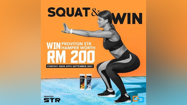 Proviton STR Squat & Win Contest