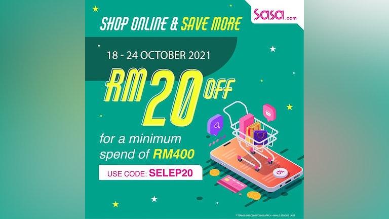 Shop Online & Save More at SaSa Online