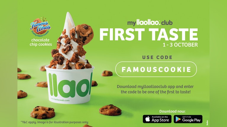 myllaollao Club Exclusive First Taste with Famous Amos