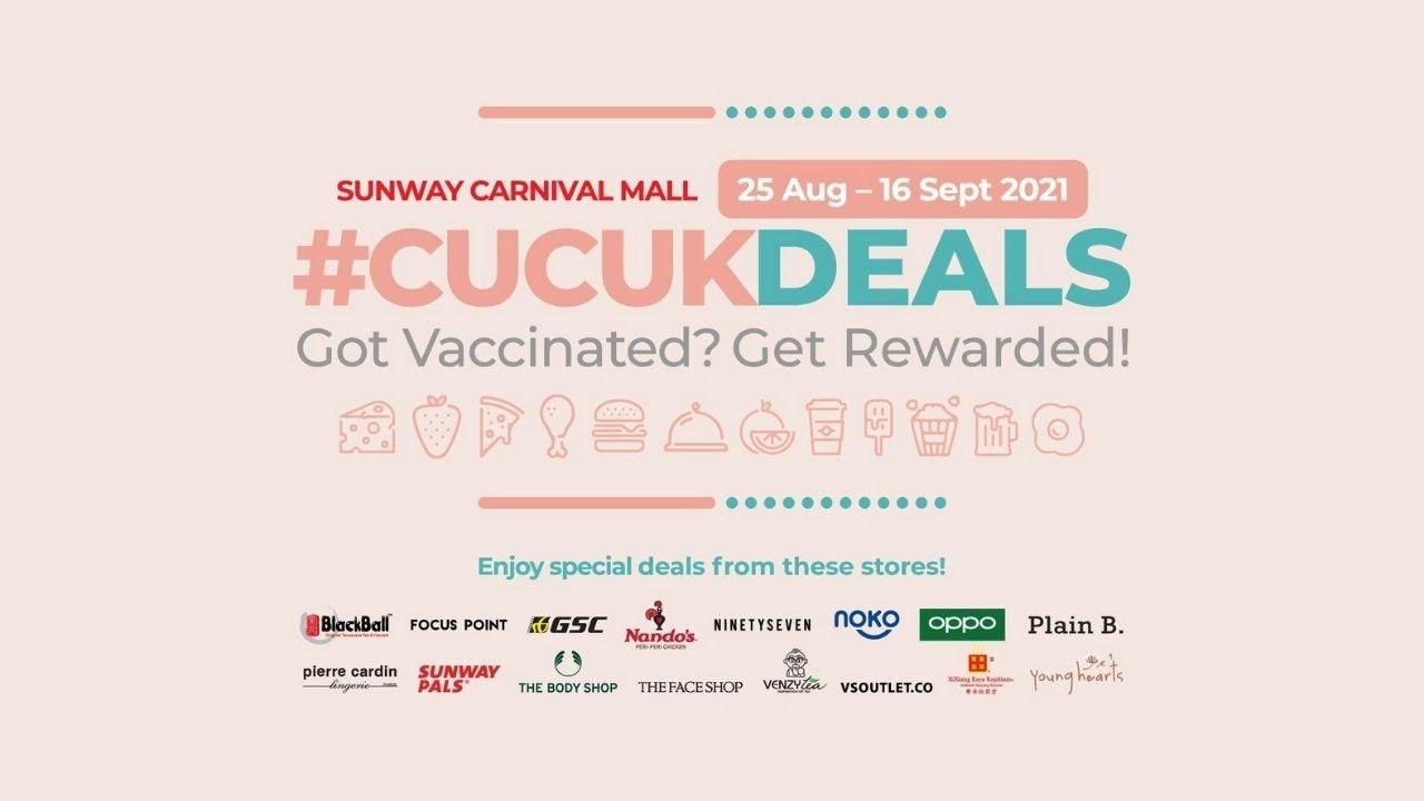 Sunway Carnival Mall #CUCUKDEALS