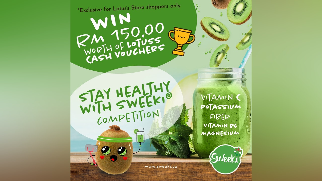 Stay Healthy with Sweeki Contest