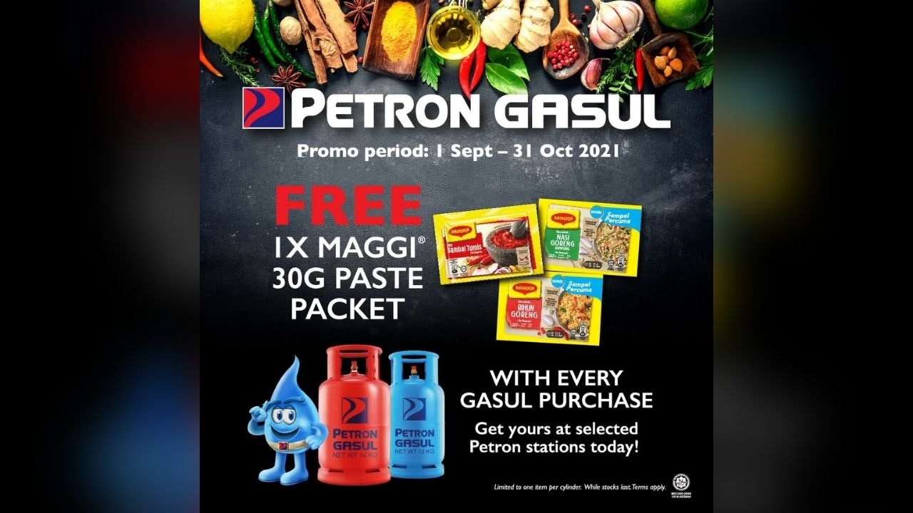Free Maggi Paste Packet with Every Petron Gasul