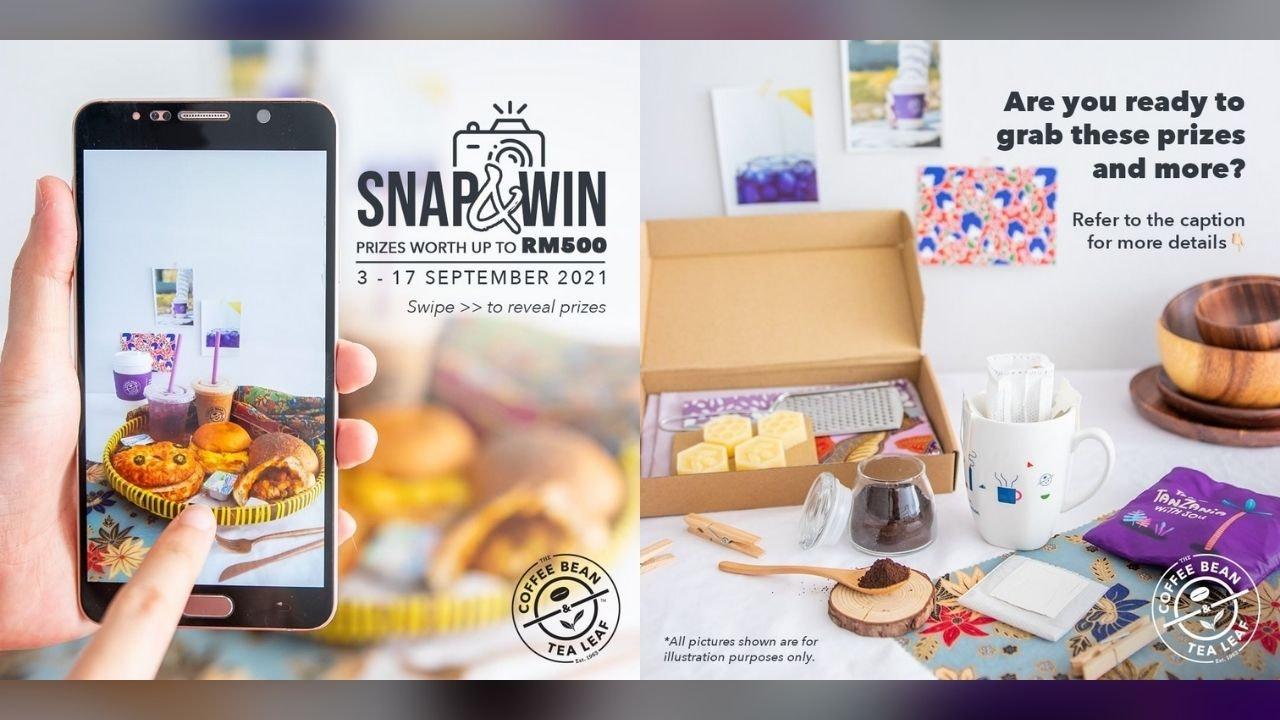 The Coffee Bean & Tea Leaf Snap & Win Contest