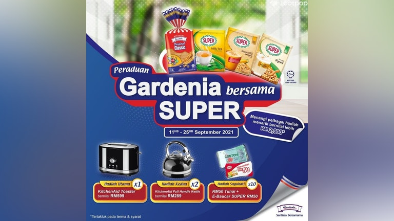 Peraduan Gardenia Bersama SUPER