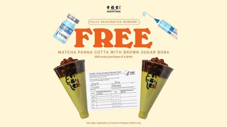 Full Vaccination Reward from Xing Fu Tang Malaysia 馬來西亞幸福堂